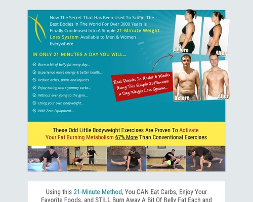 Bodyweight Burn - Fat Loss
