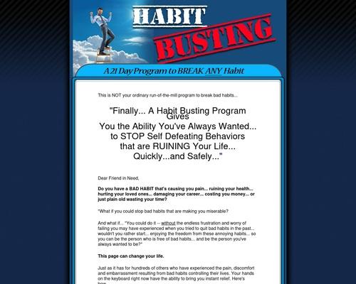 Break Bad Habits - 21 Day Program To Breaking Bad Habits