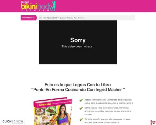 28-day Bikini Body Program